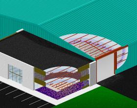 Anvend Climatizer Plus Isolation mellem gulv-, tag- og væg samlinger samt isolering af landbrugs objekter