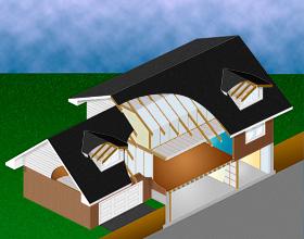Anvend Climatizer Plus Isolation til kviste, lofter, vægge, gulve, kælder m.m.