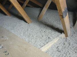 Isolering af loft papiruld pris